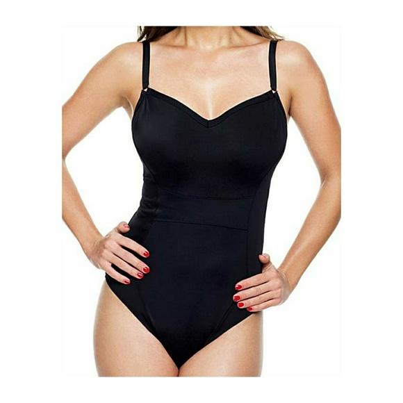 ab9a75e7d2 Panache One Piece Swimsuit Isobel 32J Black